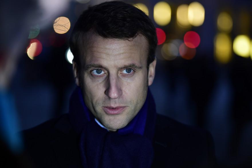 Emmanuel Macron, le 10 janvier 2017