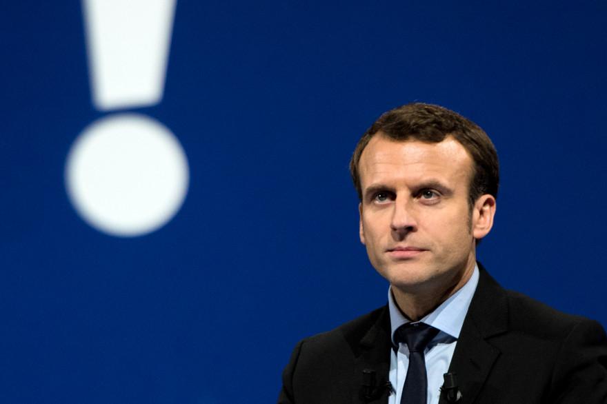 Emmanuel Macron, le 14 janvier 2017
