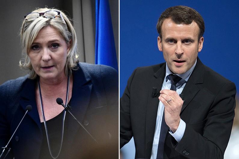 """Un second tour Le Pen/Macron ? Un """"cadeau"""" a jugé la frontiste."""