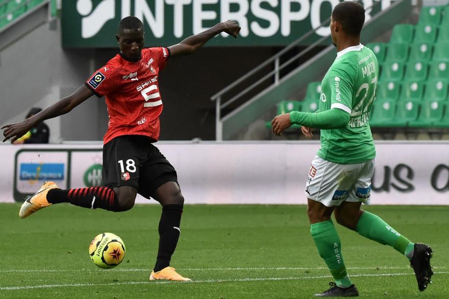 Rennes a battu Saint-Etienne 3-0 samedi 26 septembre et prend la tête de la Ligue 1.