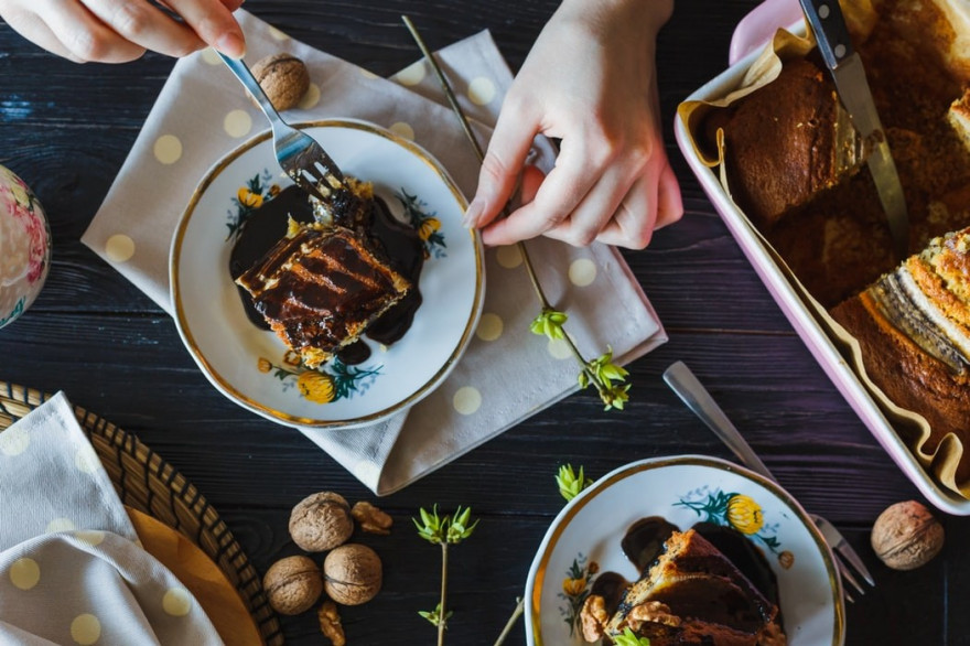 Contre l'arrivée du froid et de l'hiver, rien de mieux que des plats et des desserts savoureux