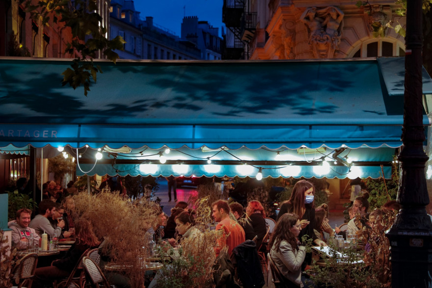Un restaurant à Paris, le 26 septembre 2020.