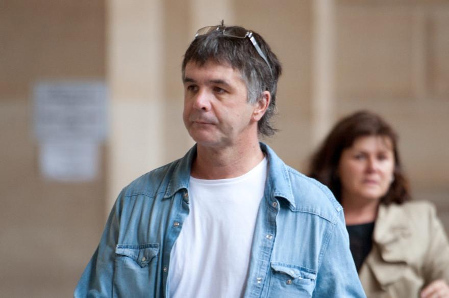 Stéphane Colonna lors du dernier jour du procè de son frère Yvan en 1998.