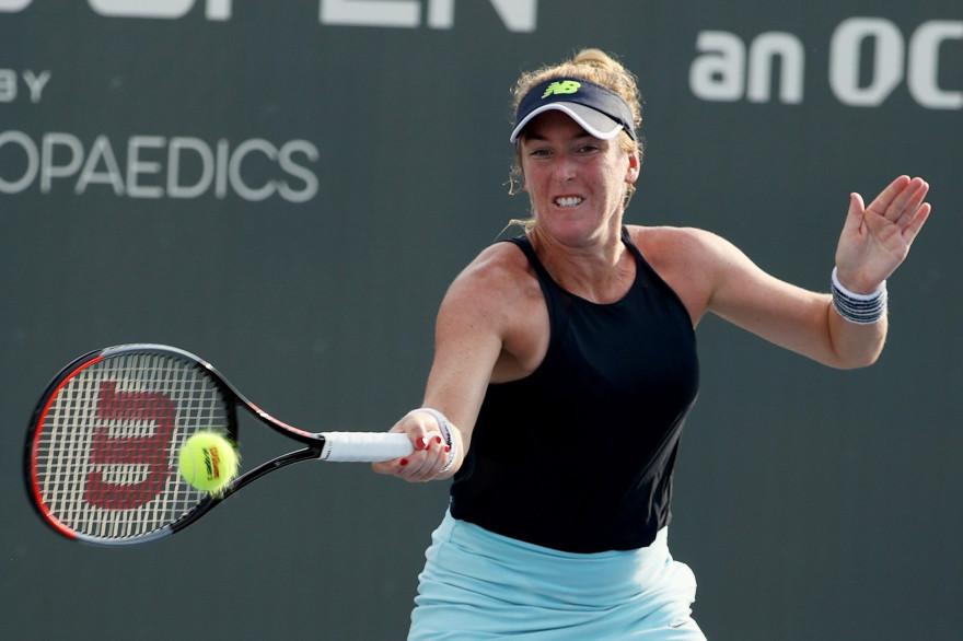 La joueuse de tennis américaine Madison Brengle, le 10 août 2020.