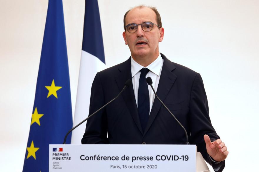 Jean Castex le 15 octobre 2020 à Paris