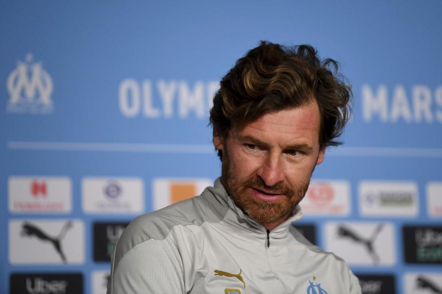 Andre Villas-Boas à Marseille le 7 octobre 2020