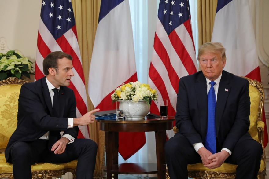 Emmanuel Macron et Donald Trump le 3 décembre 2019.