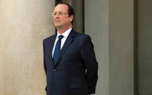 François Hollande, à Paris. (archives)