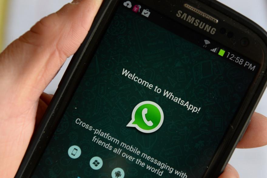 Les policiers avaient partagé la scène sur le réseau WhatsApp.