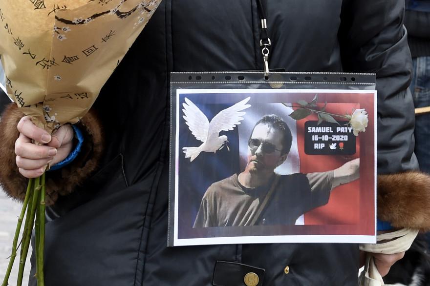 De nombreux hommages ont été rendus à Samuel Paty, professeur assassiné le 16 octobre 2020