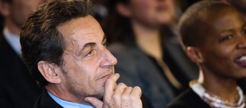 Nicolas Sarkozy, le 10 février 2014.