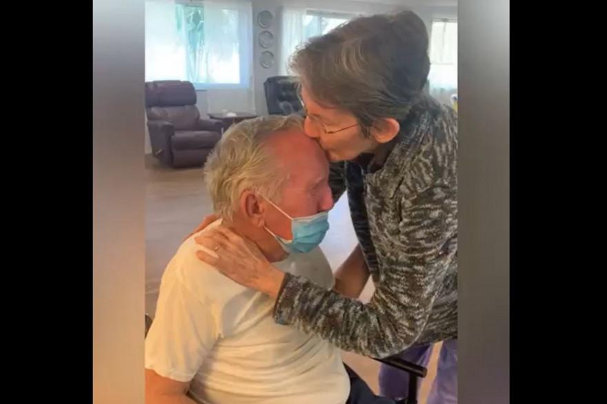 Joseph et Eve, mariés depuis 60 ans, ont été séparés 215 jours à cause du coronavirus.