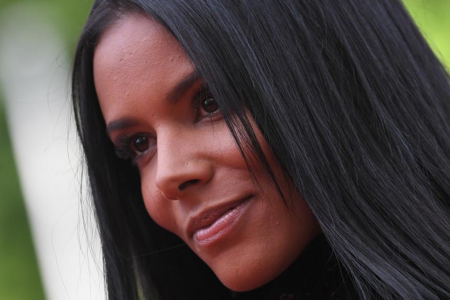 La chanteuse Shy'm à Cannes, en 2018