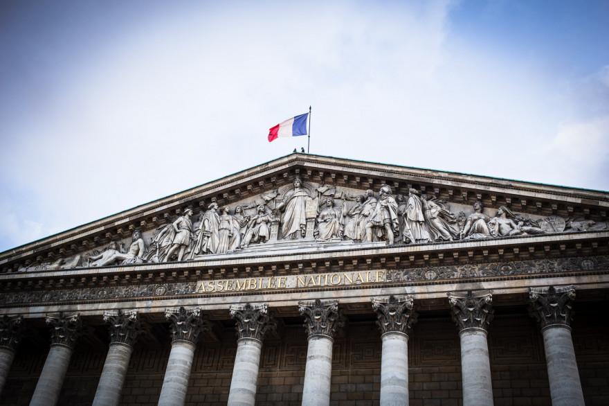 L'Assemblée nationale à Paris (illustration)