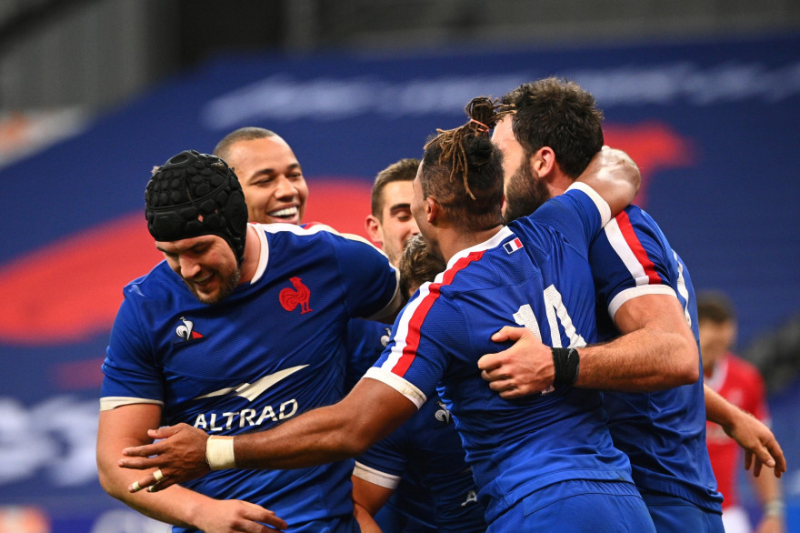 Le XV de France face au pays de Galles le samedi 24 octobre 2020 au Stade de France