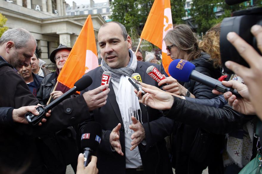 Laurent Berger a plaidé pour l'Europe lors d'un rassemblement de la CFDT pour le 1er mai