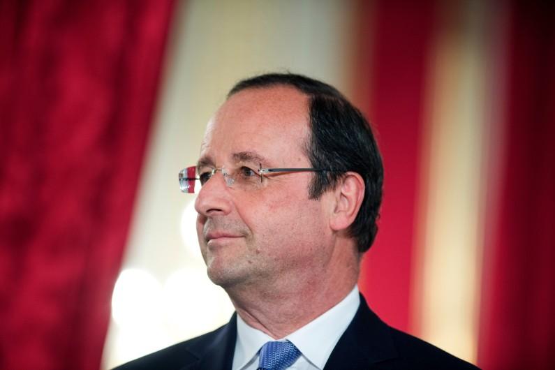 Le président de la République, François Hollande, le mardi 10 juin 2014 à l'Élysée.