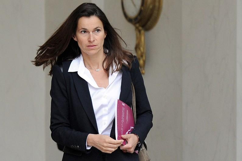 La ministre de la Culture, Aurélie Filippetti, le 28 mai 2014 à Paris (Archives).