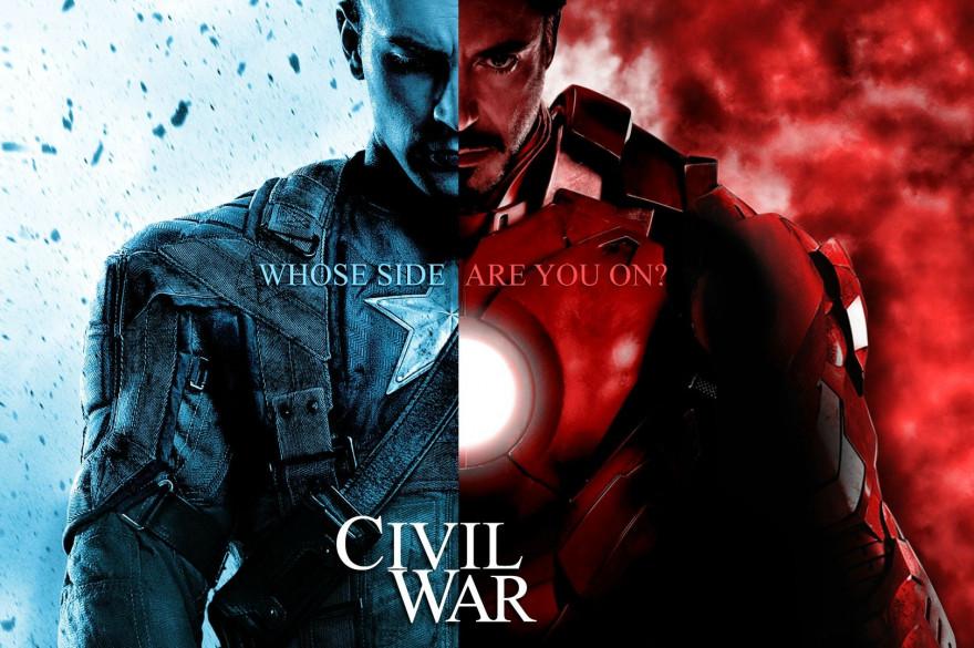 """Steve Rogers et Tony Stark vont s'affronter dans le 3ème volet de """"Captain America""""."""