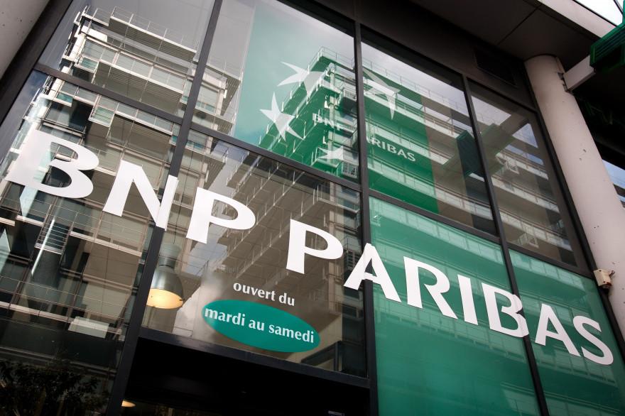 Des bureaux de la BNP Paribas. (illustration)