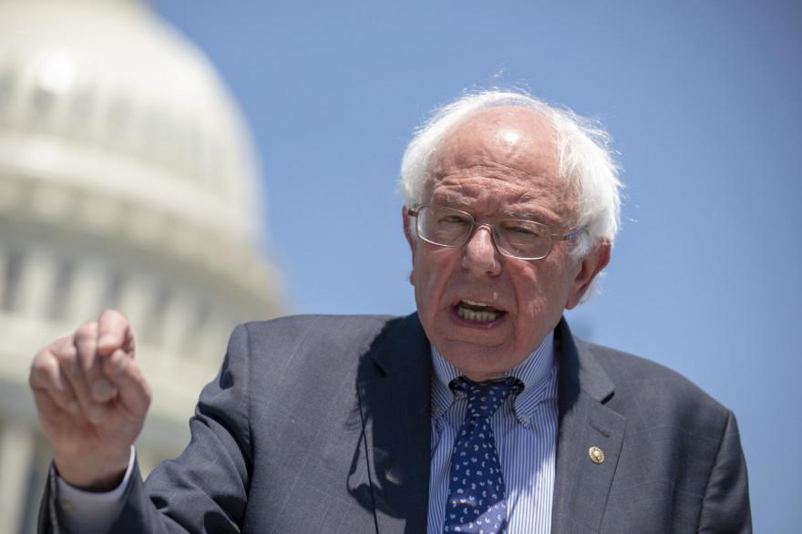 Le sénateur démocrate Bernie Sanders.