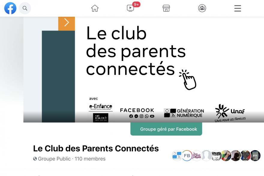 Facebook lance le club des parents connectés pour aider les parent à appréhender les enjeux de la parentalité liés au numérique