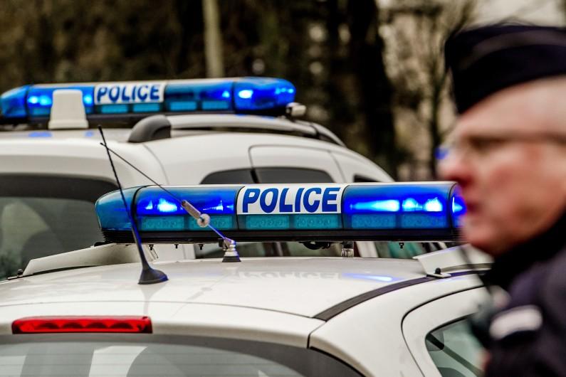 Des voitures de police (Illustration).