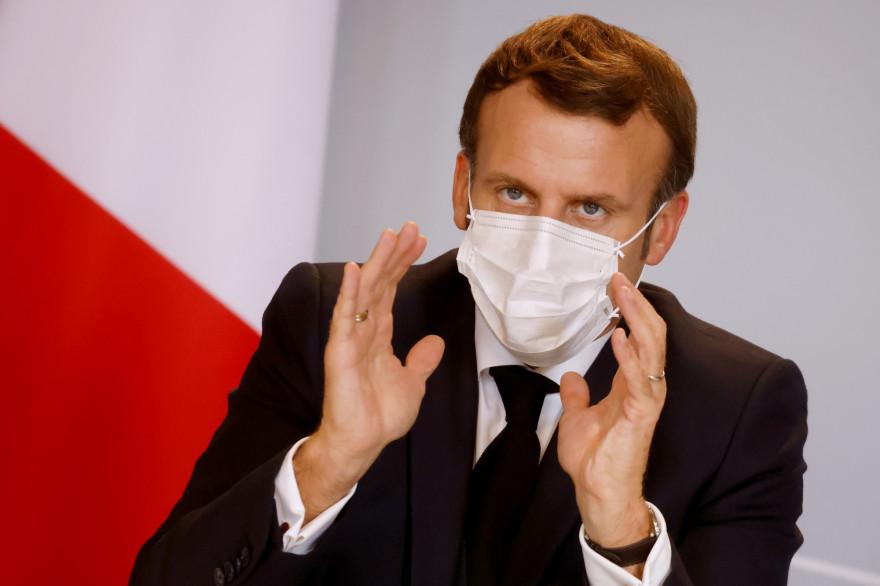 Emmanuel Macron le 6 novembre 2020 à l'Élysée.