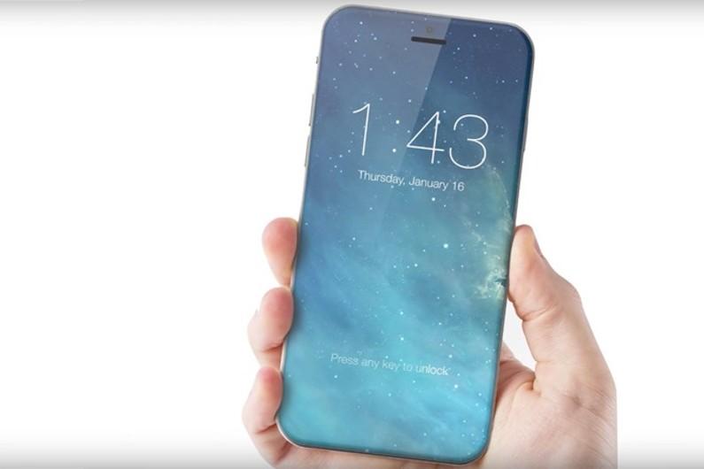 """Un concept d'iPhone vitré à l'écran """"borderless"""""""
