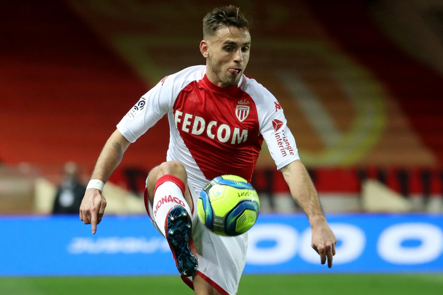 Ruben Aguilar avec Monaco le 4 février 2020