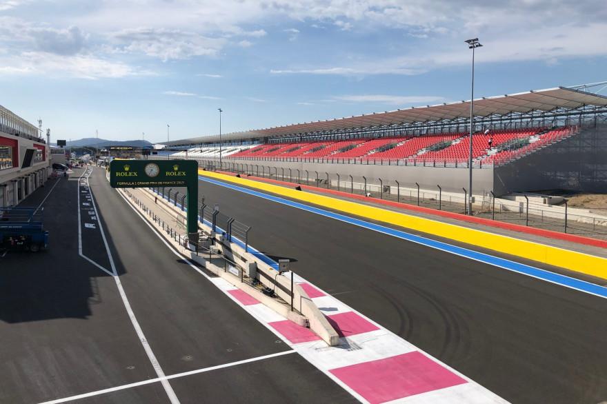 Le circuit Paul-Ricard au Castellet