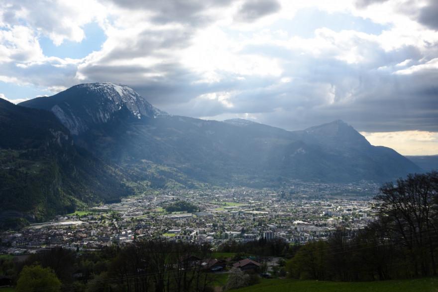 La vallée de l'Arve, en Haute-Savoie (illustration)