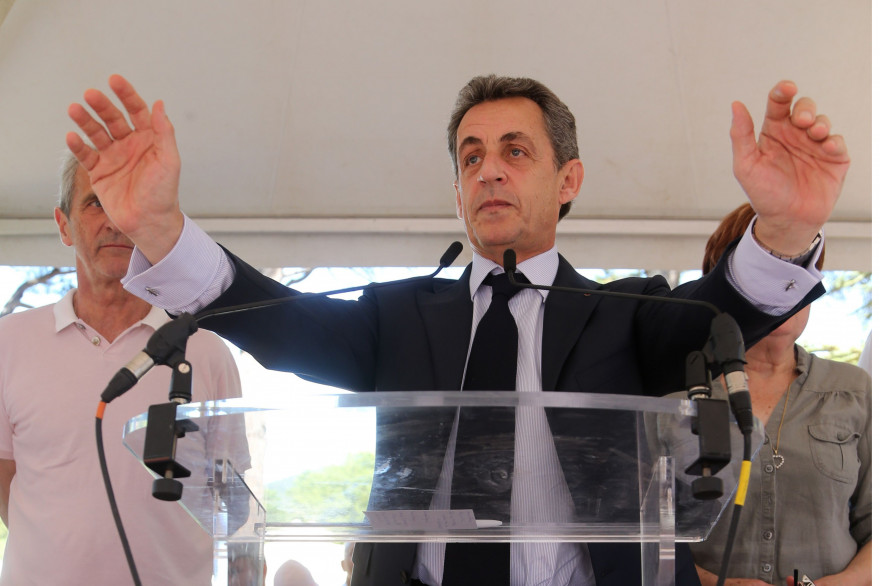 Nicolas Sarkozy à La Valette du Var le 3 juillet 2016.