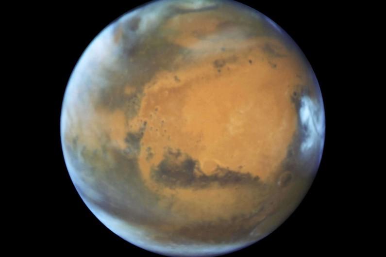 Une photo de la planète Mars, prise par la Nasa le 12 mai 2016 (illustration)