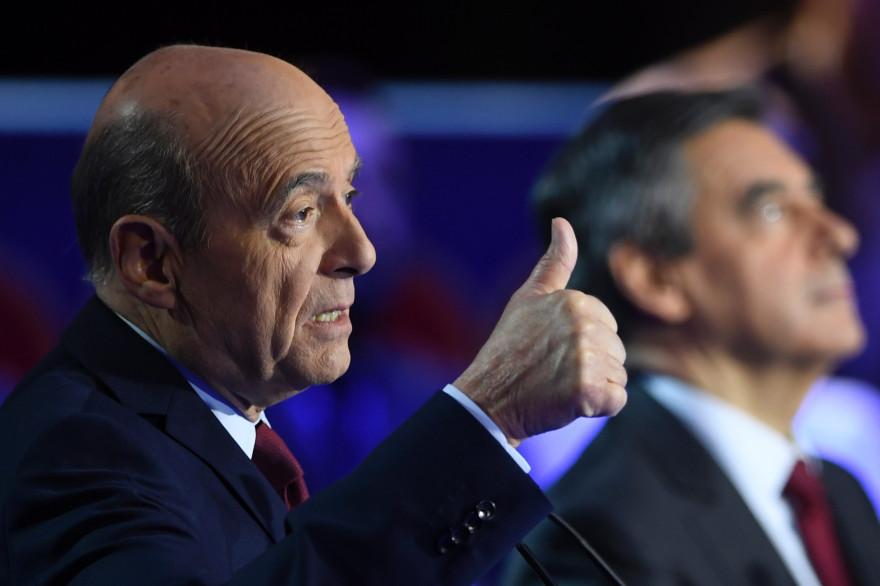 Alain Juppé lors du débat de l'entre-deux tours de la primaire de la droite