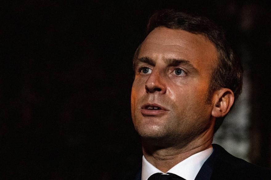 Le président Emmanuel Macron le 16 octobre 2020.