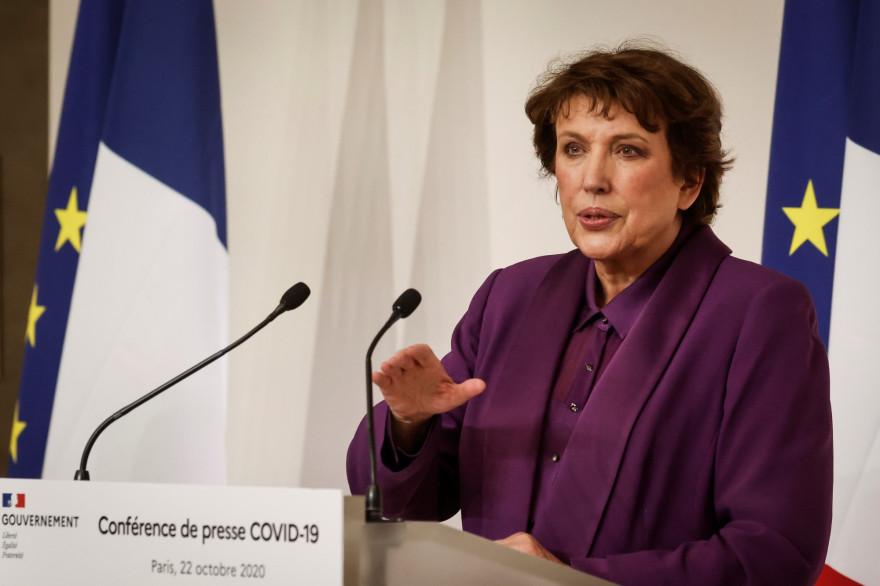 Roselyne Bachelot, ministre de la Culture, est l'invitée de Laurent Ruquier, samedi 14 novembre 2020.