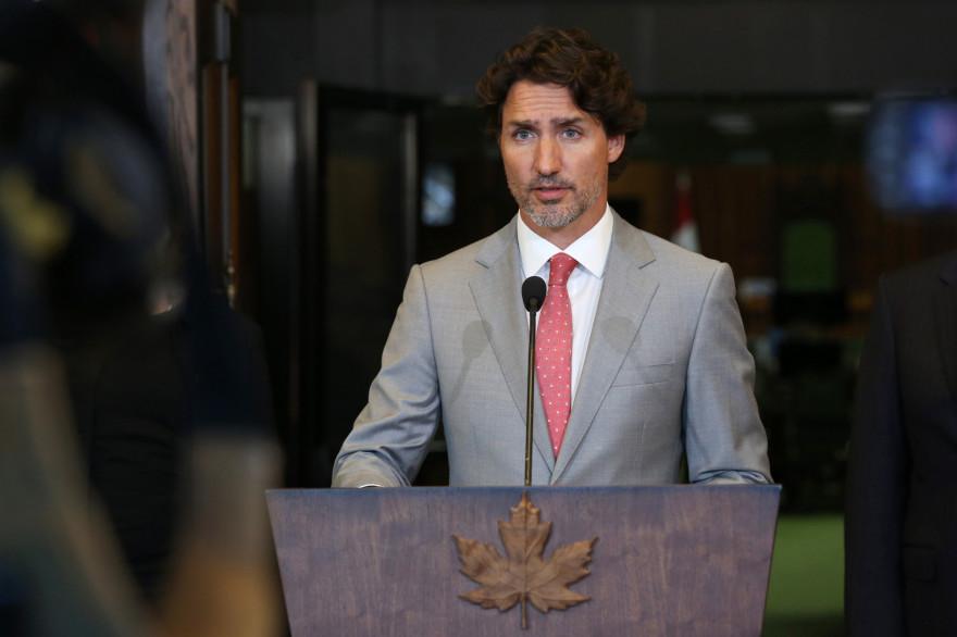 Le Premier ministre canadien Justin Trudeau, le 18 août 2020