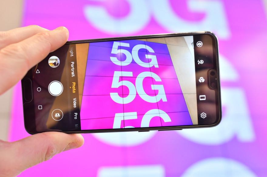 La 5G permettra de désaturer le réseau de données dans les grandes ville.