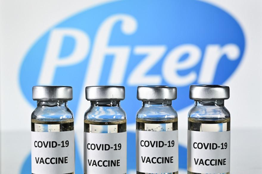 Les vaccins du laboratoire américain Pfizer