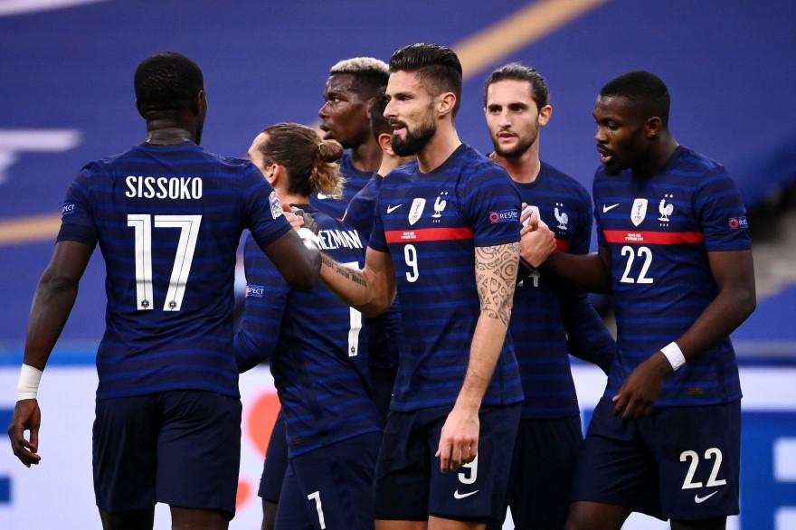 Les Bleus au Stade de France le 17 novembre 2020