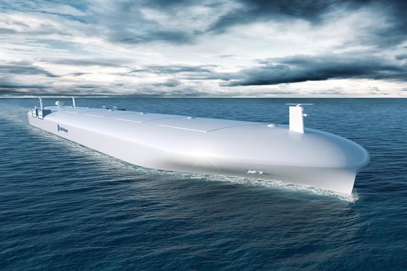 Un prototype de cargo autonome / http://marine.rolls-royce.com.cn
