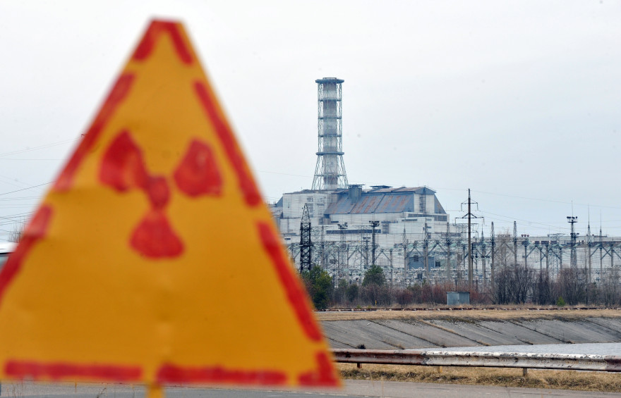 La centrale de Tchernobyl, en Ukraine (illustration).