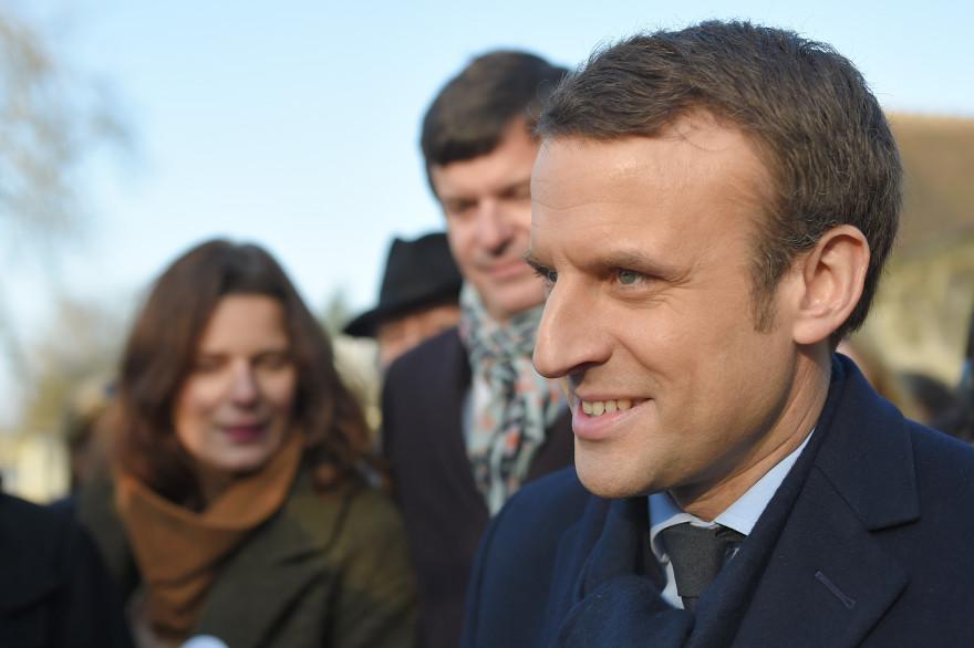 Emmanuel Macron, le 10 février 2017