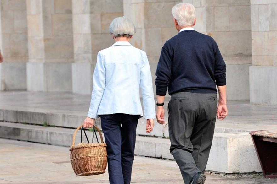 Un couple de retraités (image d'illustration)