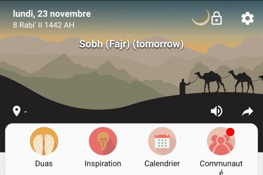 L'application Muslim Pro
