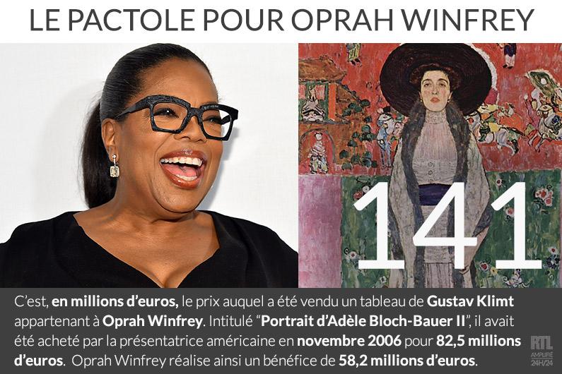 Oprah Winfrey vend un tableau de Klimt pour 141 millions d'euros