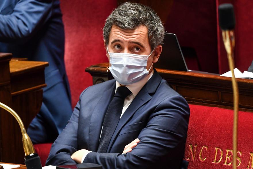 Gérald Darmanin à l'Assemblée nationale, le 20 novembre 2020