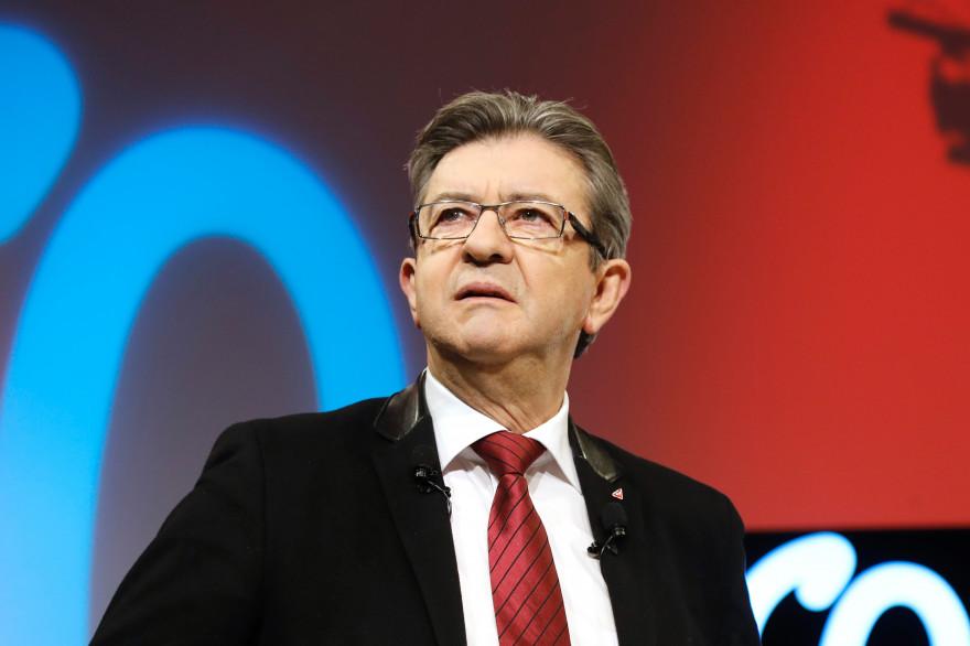 Jean-Luc Mélenchon, le 19 février 2017