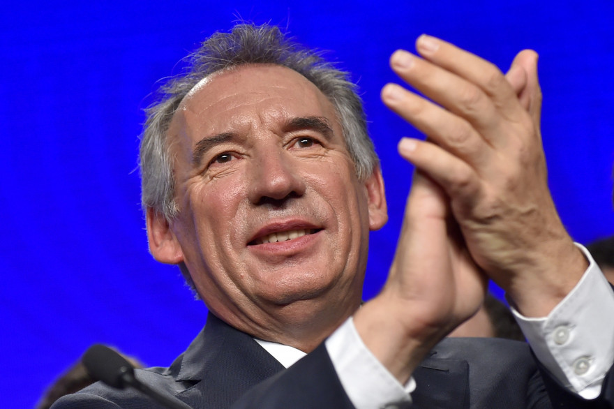 François Bayrou, le 25 septembre 2016